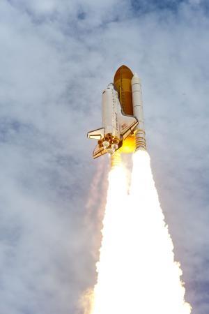 宇航员, 卡纳维拉尔角, 消防, 飞行, 发射, 升空, 火箭
