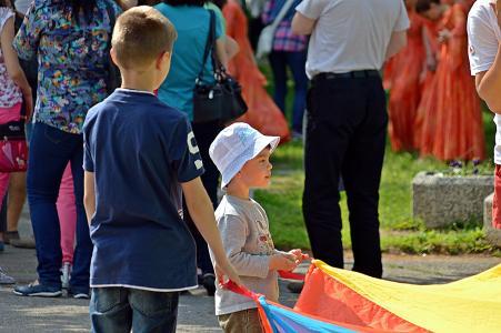 儿童, 男孩, 游戏, 人, 肖像, 情感, 公园