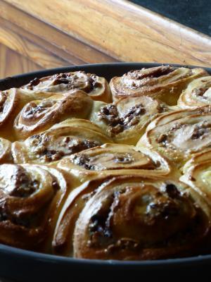 烤箱面条, 蜗牛面条, 蛋糕, 烘烤, 食品, 厨房, 弗里施
