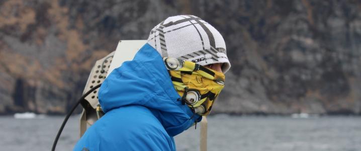 感冒, 北极, 温度, 冬天, 上限, 户外, 自然