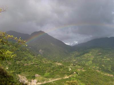 危地马拉, 景观, 天空, 云彩, 山脉, 森林, 树木