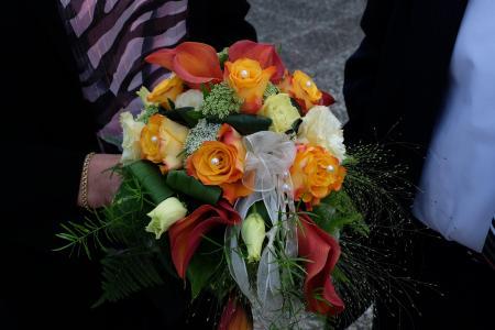 新娘花束, 花, 婚礼, 浪漫, 斯特劳斯, 祝贺, 象征主义