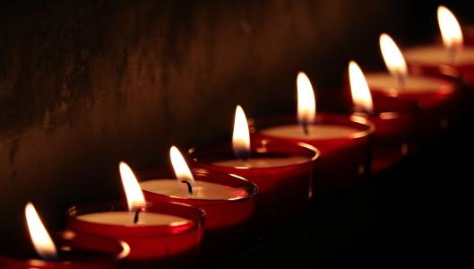 茶灯, 教会, 光, 祷告, 烛光, 信心, 宗教