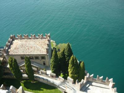 加尔达湖, 湖, 景观, 意大利