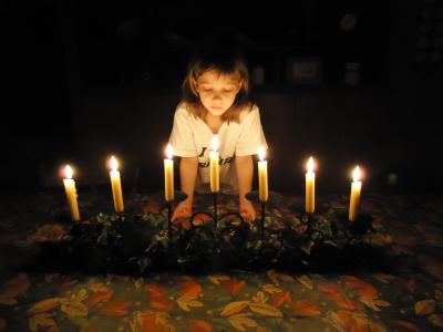 逾越节的筵席, 蜡烛, 假日, 庆祝活动, 春天, 传统, 宗教