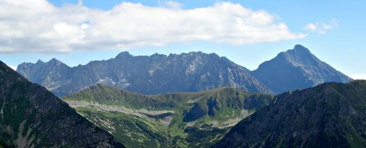 山脉, 塔特拉, 高 tatras, 景观, krivan, 自然