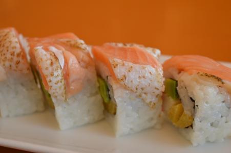 寿司, 三文鱼, 海鲜, 鱼, 日语, 食品, 顿饭