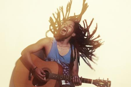 家伙, 情感, 吉他, 音乐, 广告, 快乐, 音乐家