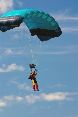 跳伞, 体育, 极限运动, 跳伞者, 竞争