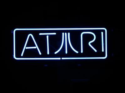 雅达利, 霓虹灯, 标志, 徽标, 计算机
