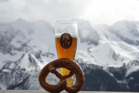 啤酒, 椒盐卷饼, 山脉