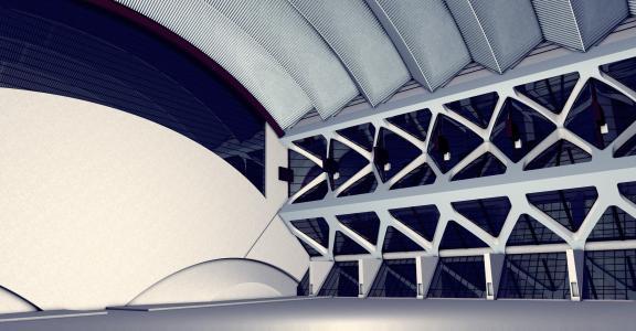 建筑, 设计, 大厅, 目的建立, 功能, 体育名人, 运输人