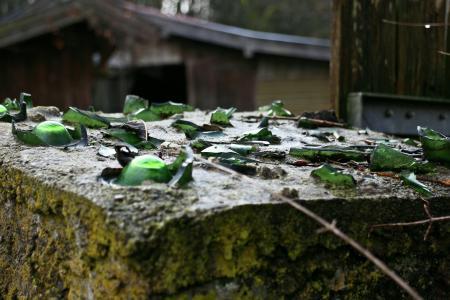 安全, 盗窃, 保护, 玻璃, 碎片, 破碎的玻璃, 夏普