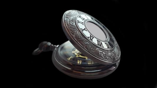 怀表, 时钟, 时间, 老, 怀旧, 古董, 指针