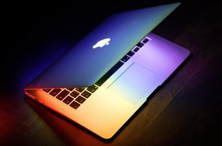 笔记本电脑, 苹果, macbook, 计算机, 浏览器, 研究, 研究