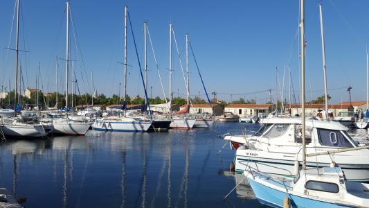 端口, 水, 天空, 小船, 几点思考, 法国, 蓝色