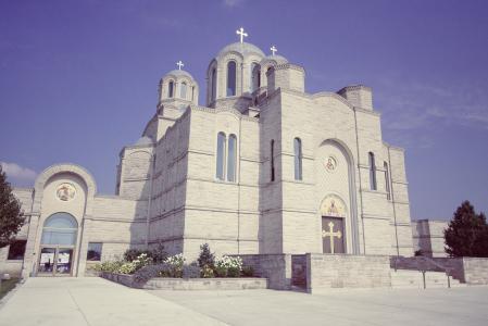 圣萨瓦塞尔维亚语, 教会, 东正教教会, 教堂, 大教堂, 基督教, 宗教