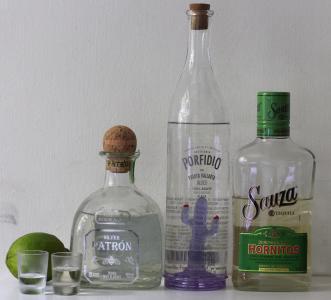 龙舌兰酒, 墨西哥, 酒精, 饮料, 瓶, 眼镜, 石灰