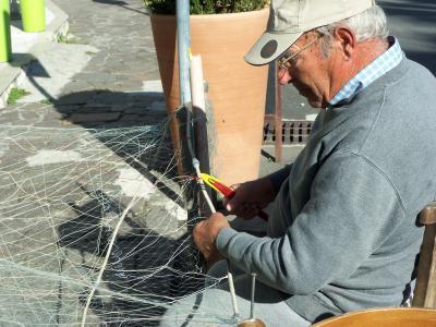 作品, 修复, 渔网