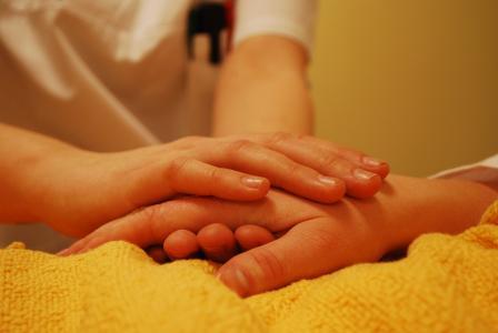 手, 关闭, 情感, 友谊, 保健, 安全, 妇女