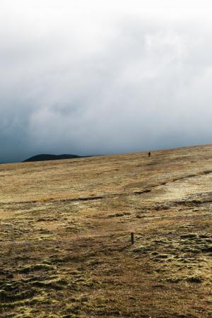 在冰岛领域的云彩