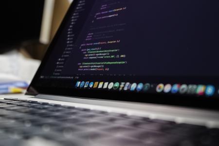 代码, 计算机, 电子, 笔记本电脑, macbook, 屏幕