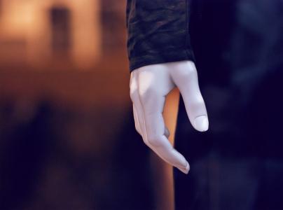 显示假人, 手, 塑料, 显示, 窗口, 娃娃, 时尚