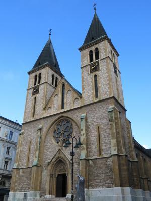 圣心大教堂, 萨拉热窝, 大教堂, 波斯尼亚