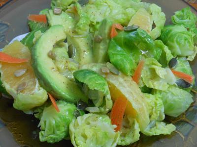 沙拉, 健康, 食品, 新鲜, 蔬菜, 绿色, 素食主义者