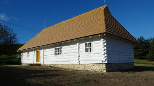 rabsztyn, 波兰, 小屋, 建设, 建筑