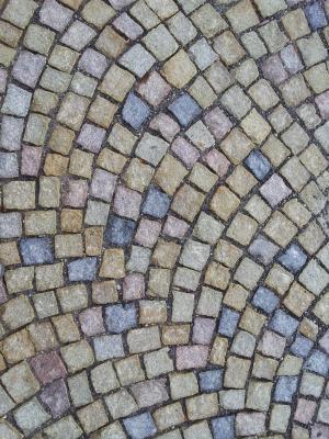 路径, 石头, 捷克共和国, 石头立方体, 路面, 铺路