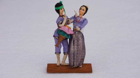 娃娃, 玩具, 傀儡, 集合, 模型, 音乐, 泰国音乐