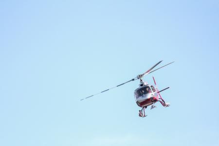 直升机, 阿拉斯加, 飞行