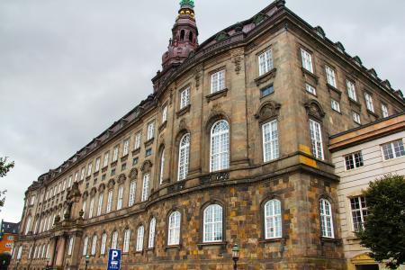 堡宫, 宫, 城堡, 丹麦语, 议会, 美丽, 建筑