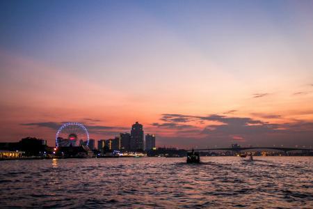 曼谷泰国地平线