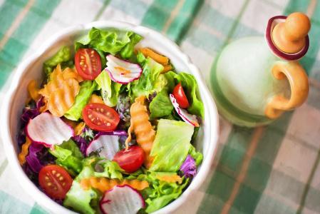 沙拉, 新鲜, 蔬菜, 蔬菜, 健康, 饮食, 食品