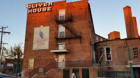 奥利弗房子, 托莱多, 历史, 建设, 俄亥俄州, 建筑, 城市