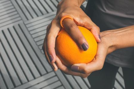 剥橙的手工工具