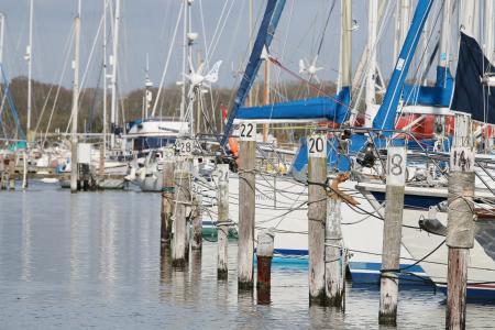 小船, 海港, 水, 海岸, 港口, 航海的船只, 海