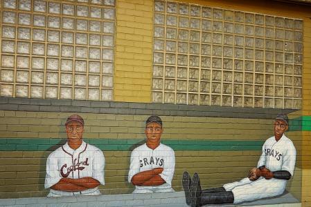体育, 棒球, 涂鸦, 人