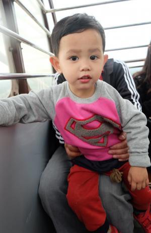 孩子们, 可爱, 家庭, 中国