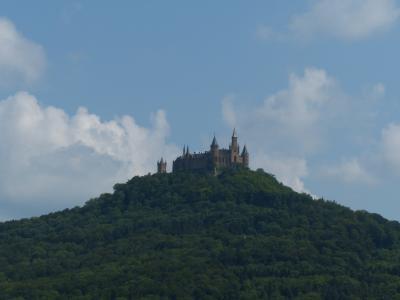 霍亨索伦, 霍亨索伦城堡, 城堡, 山, 祖先城堡, hohenzollern 帝国大厦, 巴登符腾堡