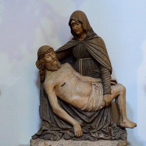 意大利, 雕塑, 处女, 基督, pouilles, 圣母, polignano
