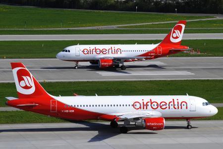 服务两, 机场, 着陆带, 空客, 柏林, 空气, 飞机