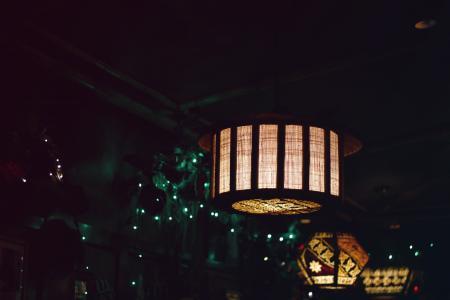 建筑, 艺术, 酒吧, 建设, 天花板, 黑暗, 装饰品