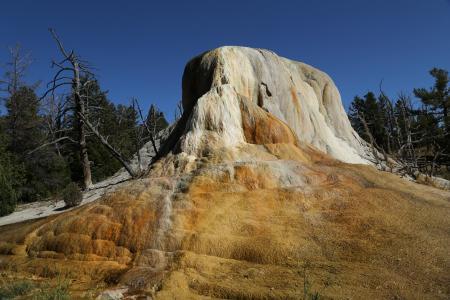 间歇泉, 黄石, 美国