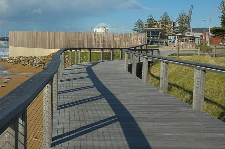 浮桥, 塔斯马尼亚岛, 澳大利亚, 景观, 天空, 云彩, 栅栏
