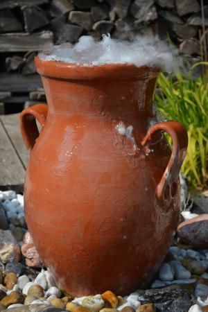 双耳瓶, krug, 干冰, 水罐, 陶器