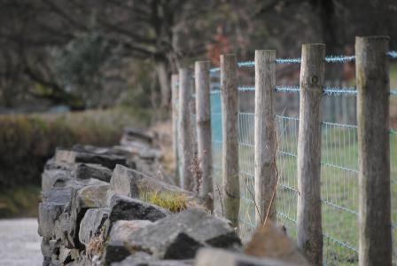 栅栏, 墙上, 电线, 木材, 纹理, 木材, 材料