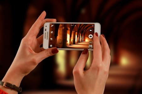 智能手机, 照片, 电话, 移动, 相机, 肖像, 生活方式